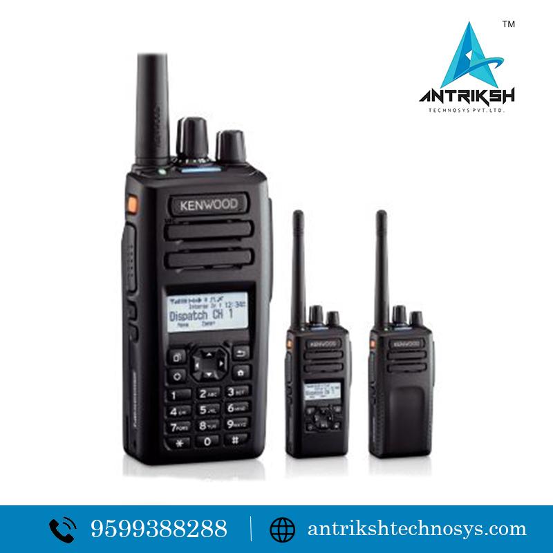 Kenwood DMR walkie talkie UHF