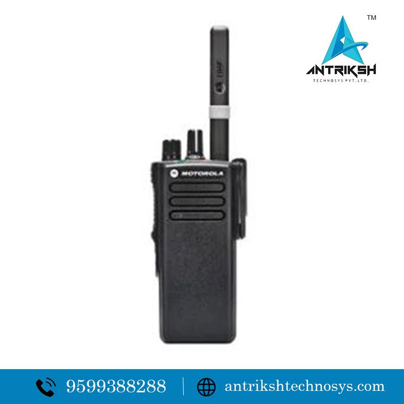 Motorola intrinsically safe two way radio