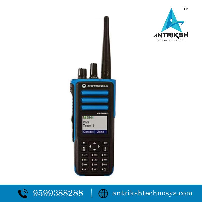 Intrinsically safe walkie talkie