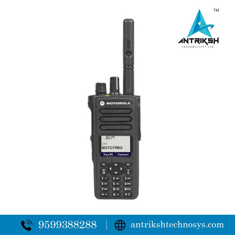 Motorola DMR walkie talkie